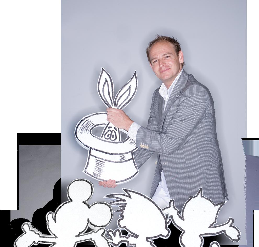 kindershow door goochelaar Justin Vliegenthart