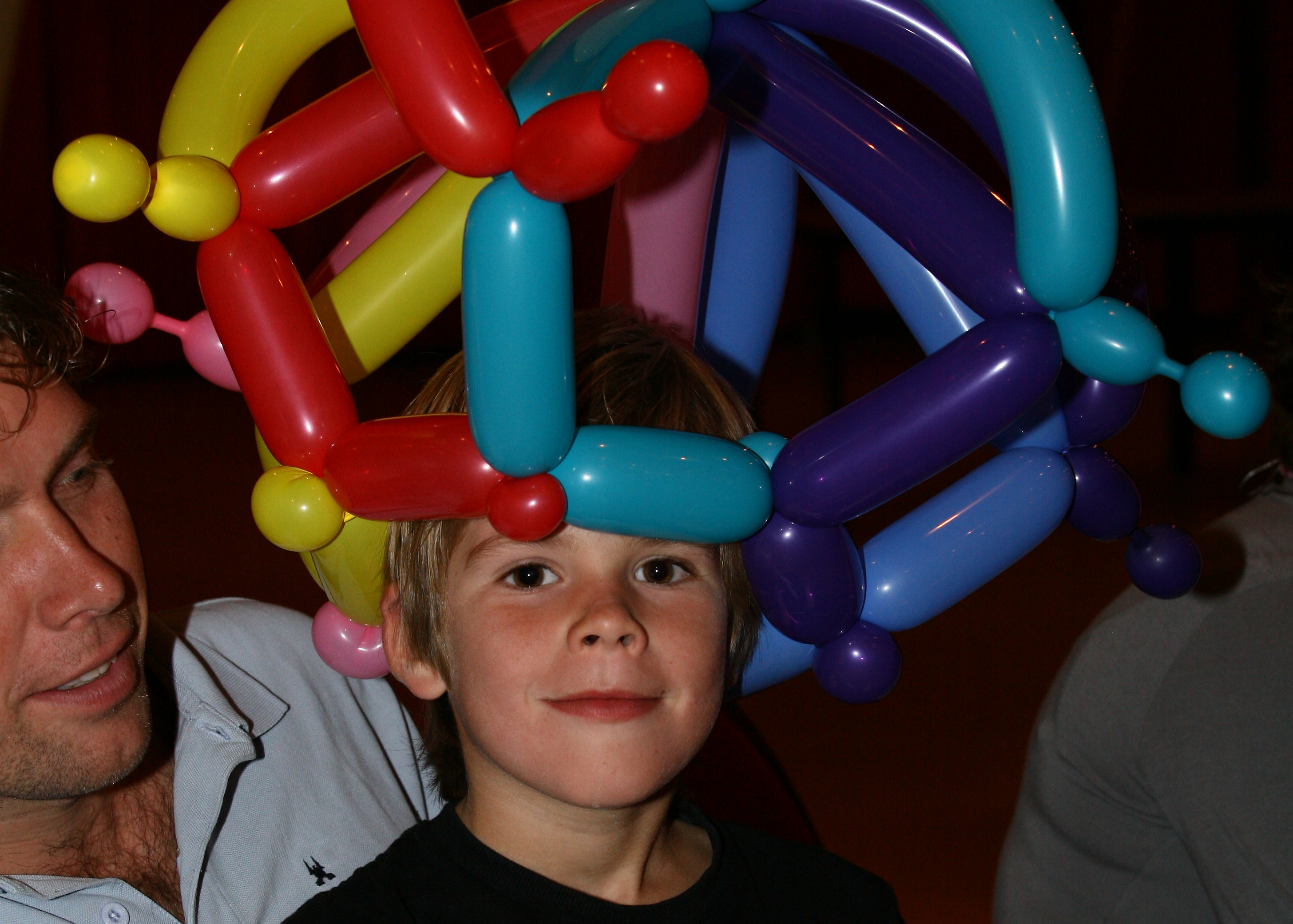 ballooning door ballonartiest Michel Beuegelsdijk