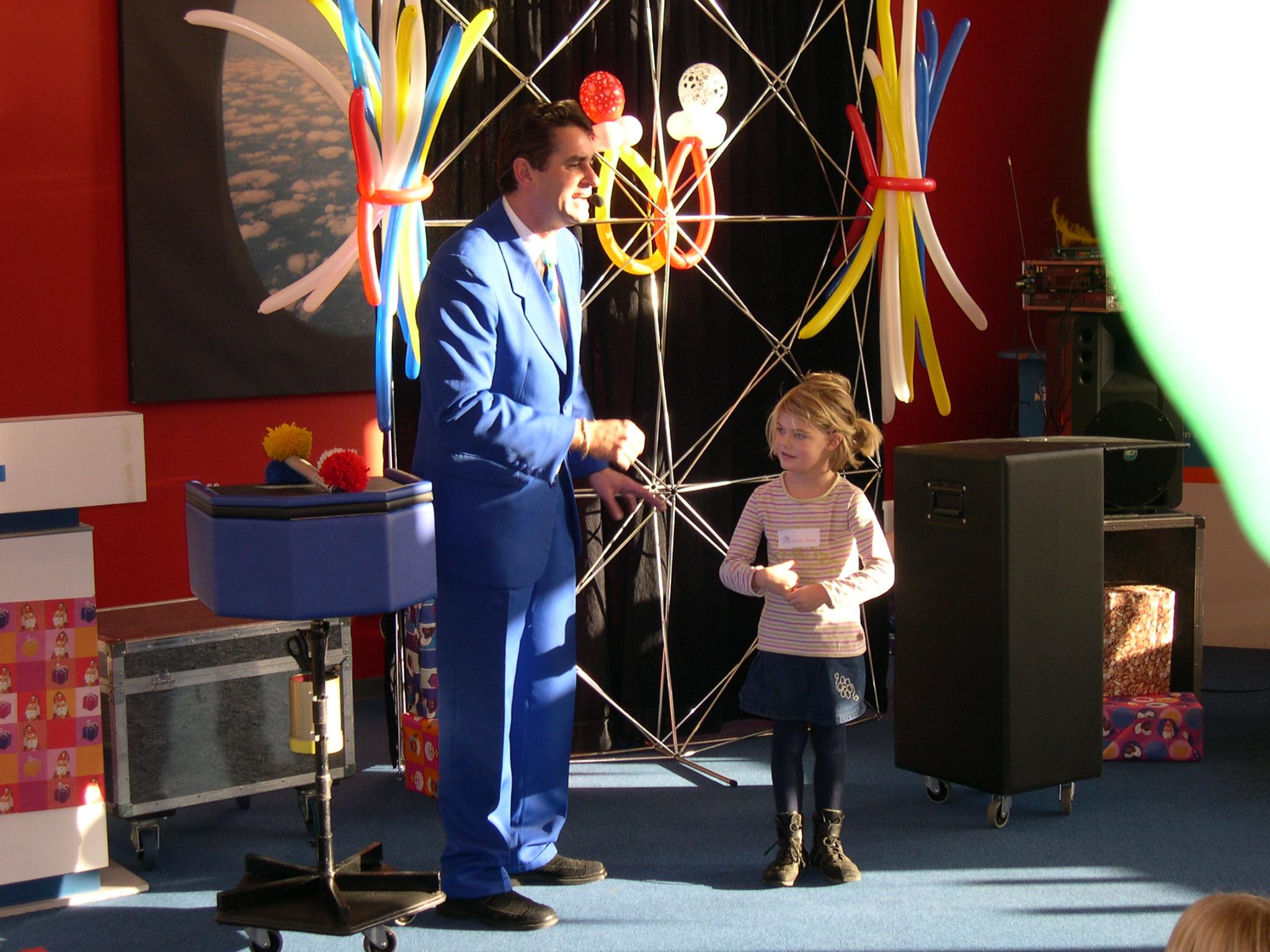kindershow goochelaar Louis Baerts