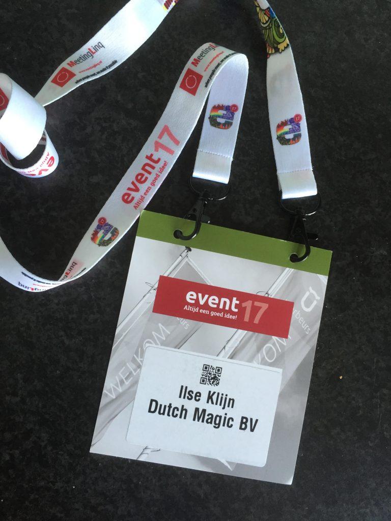 #event'17, #utrecht, #branchecontact, #goochelaar, #D&B #eventmarketing