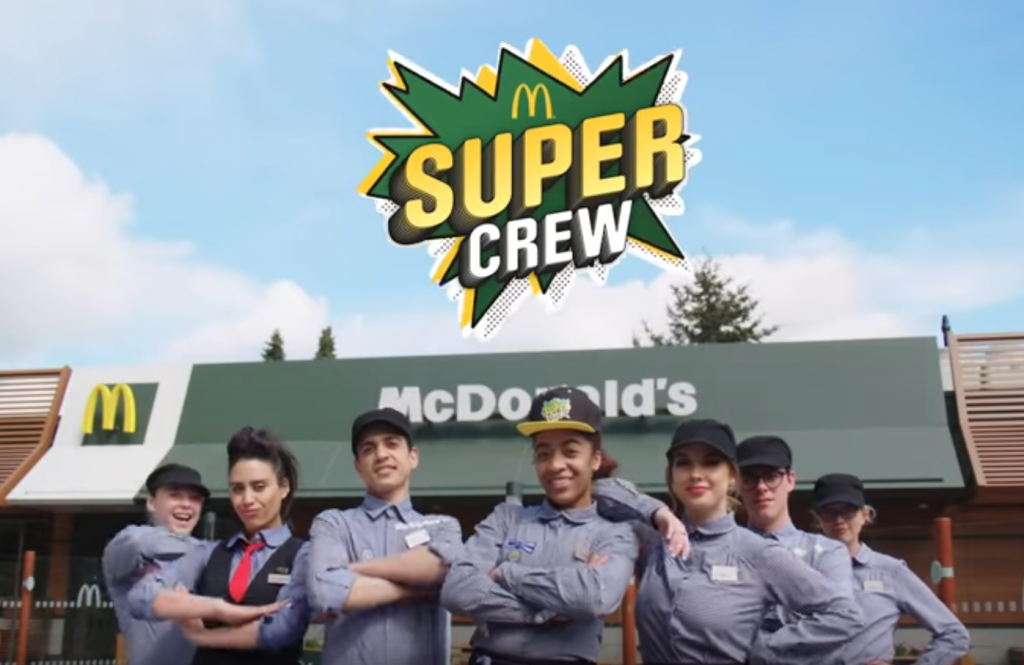 supercrew mcdonald's